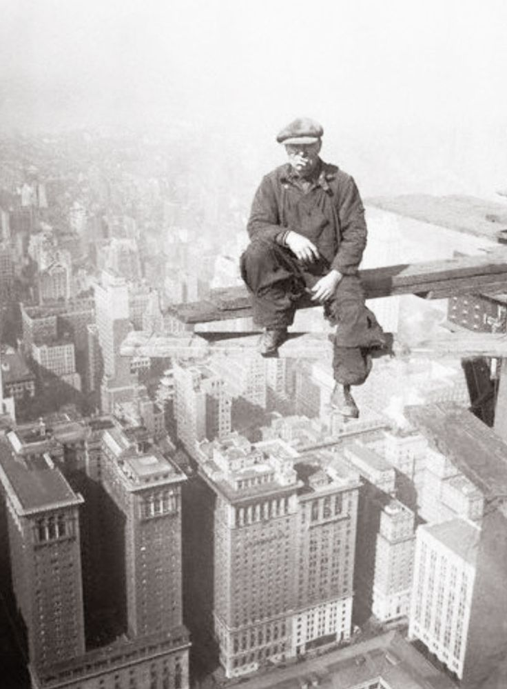 THE LAST DON: Lewis Hine You must check out this site. These men all make my A List. Talk about guts. This is in the days before OSHA. Can you imagine sending your husband off to work to do this every morning? Hats off to you, gentlemen, you have my deepest respect.