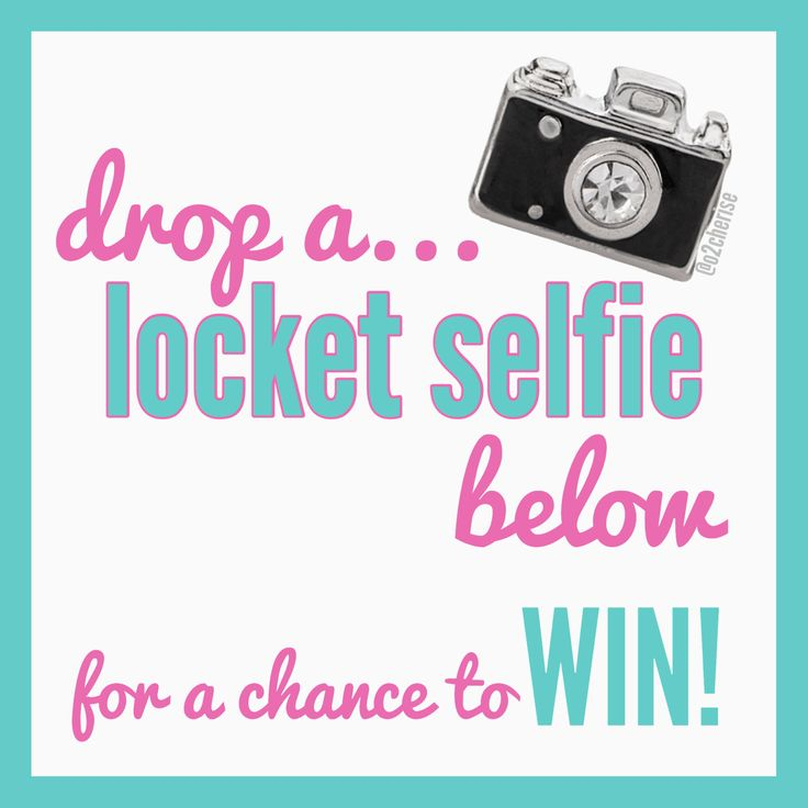 Origami Owl Independent Designer graphic - Drop a locket selfie below for a chance to win!