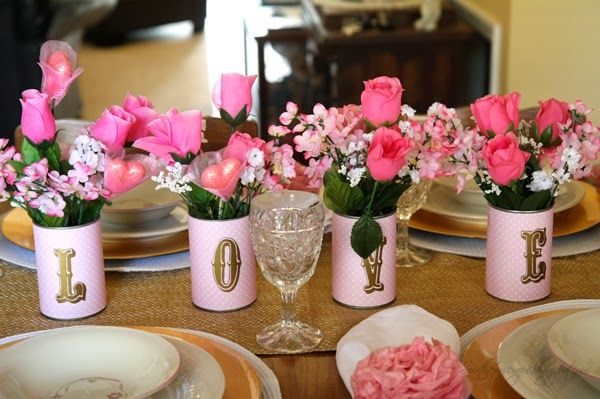 Dollar Tree Valentines Day Tablescapes Southern Scraps