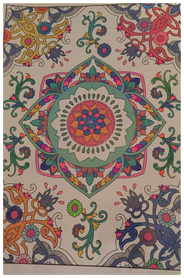 Zendoodle coloring enchanting gardens - Coloring For Adults