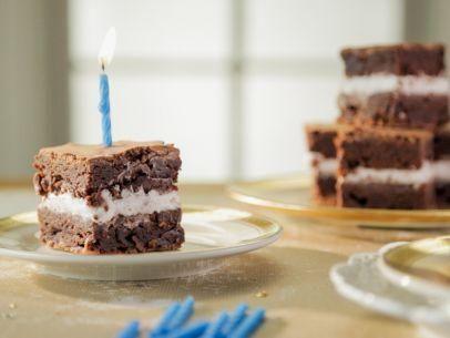 """Double Stuffed Brownies (Trisha's Birthday: 2016) - Trisha Yearwood, """"Trisha's Southern Kitchen"""" on the Food Network."""