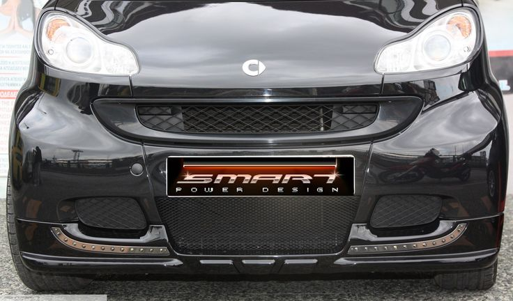 Front Spoiler Smart Fortwo 451 in Jack Black color by Smart Power Design. Check more at: www.smart-power-d... Keywords: smart fortwo front spoiler, smart car tuning, smart front spoiler, smart fortwo spoiler #Smart #Tuning #SmartFortwoTuning #SmartPowerDesign #SmartFortwoAccessories #FrontSpoiler
