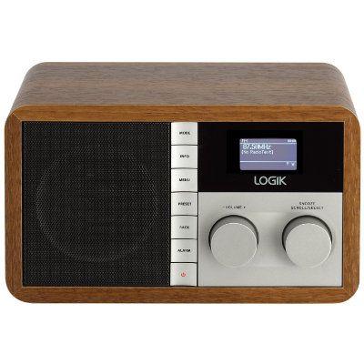 Logik radio FM/DAB+/Internett L5DAB13E - Radio og klokkeradio - Elkjøp