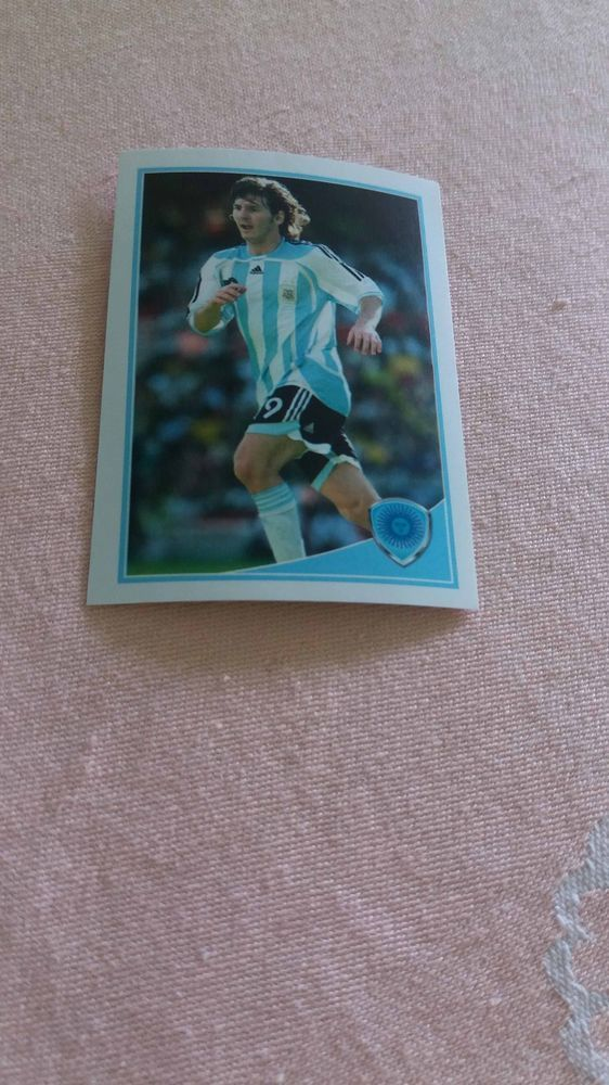 LIONEL MESSI Argentina Barcelona #35 WORLD CUP Football Fan 2010 Photo Luxor #Argentina
