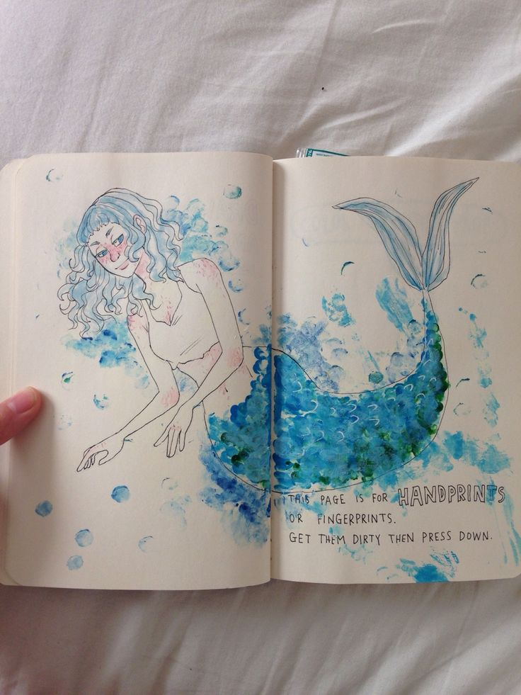 Wreck Rachel's Journal — mellobird: Two more pages done. These are a few...