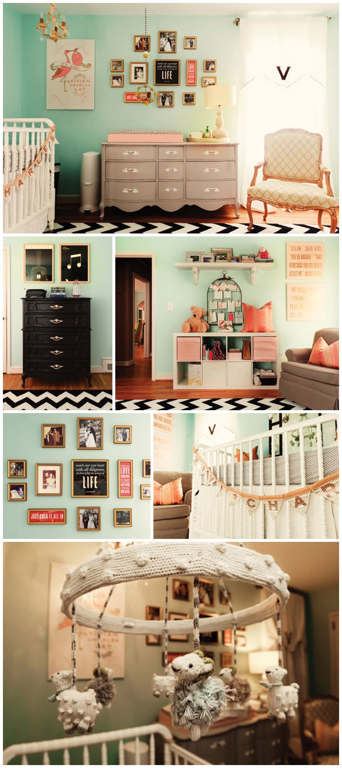 cute baby room, LayBabyLay ---remember this blog for future babies