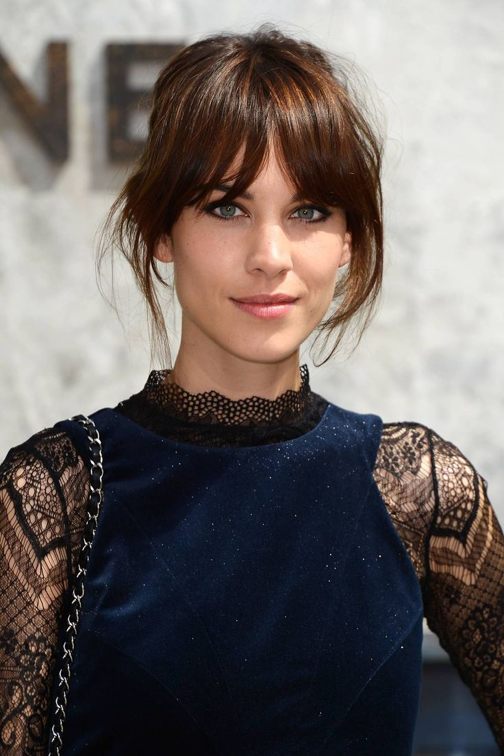 The best images about franja on pinterest her hair alexa chung