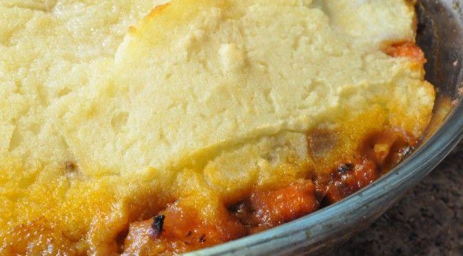 Lækker Shephards pie med hakket oksekød | NOGET I OVNEN HOS BAGENØRDEN
