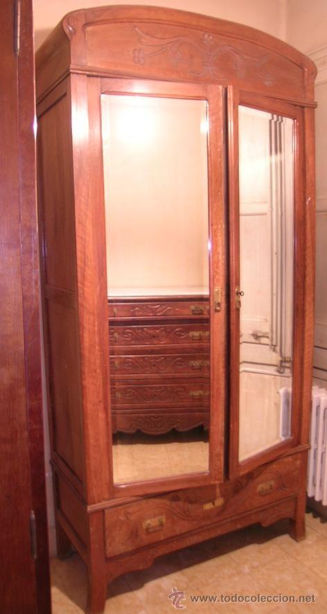 M s de 1000 ideas sobre armarios de nogal en pinterest - Armario exterior madera ...