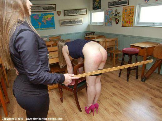 Hard spank sissy