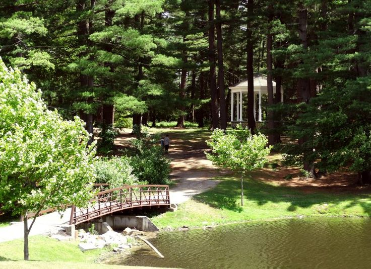 Amesbury MA, - Bandstand in the Pines at the town park!
