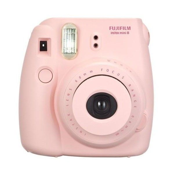 Fujifilm instax mini 8 Instant Film Camera Pink (£46) ❤ liked on Polyvore featuring fillers, camera, accessories, electronics and pink