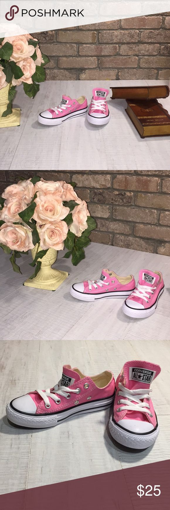 💝 Converse Chuck Taylor All Star Lo Sneaker 💝 New without box beautiful Converse for kids size 11  P2 Converse Shoes Sneakers