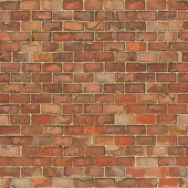 Seamless Brown Brick Wall (Maps) | texturise
