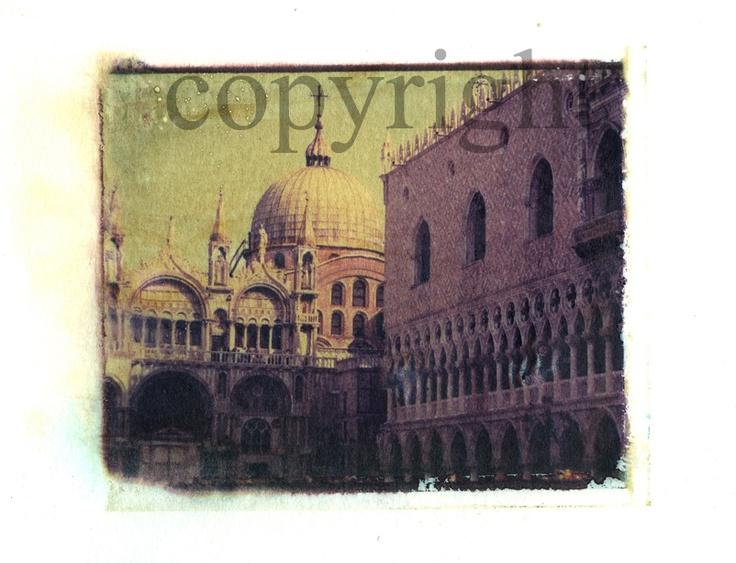 Polaroid Transfer by Silvana Robinson