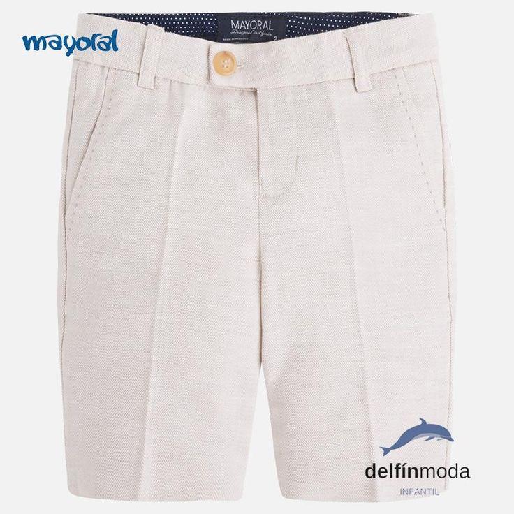 Pantalón corto de MAYORAL chino beig