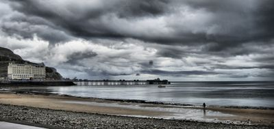 Llandudno Pier in Llandudno, Conwy County Borough