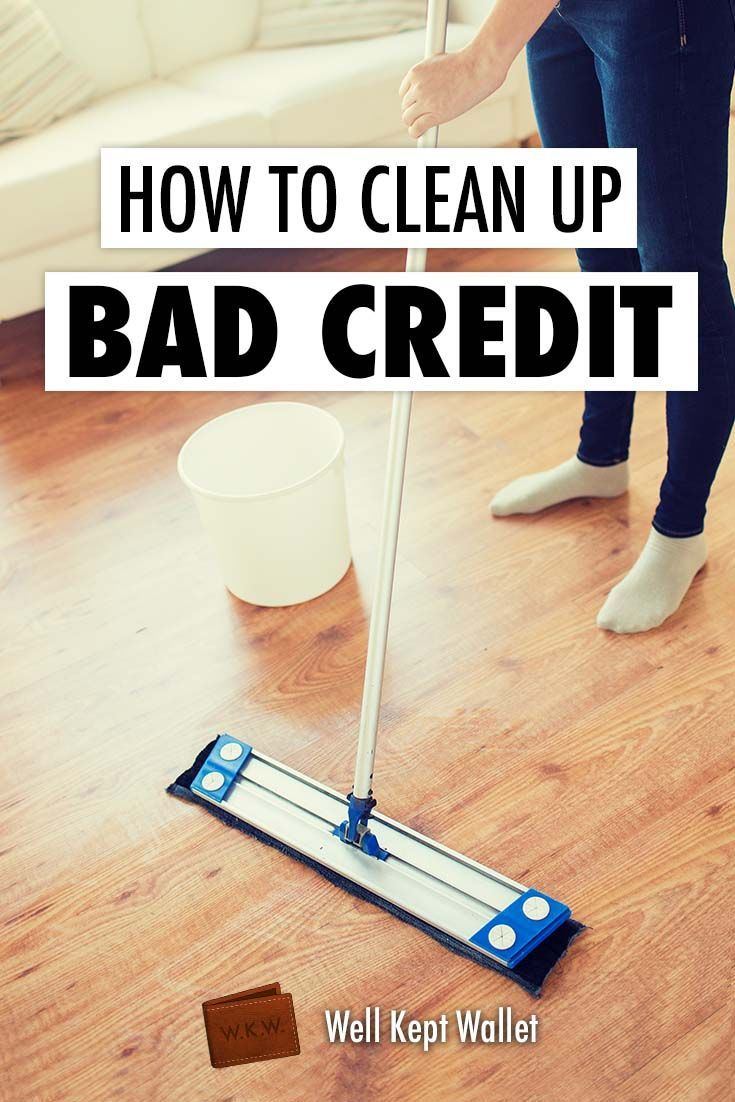 Here are the steps you need to take to improve your credit score and what the benefits are of cleaning up a bad credit report.