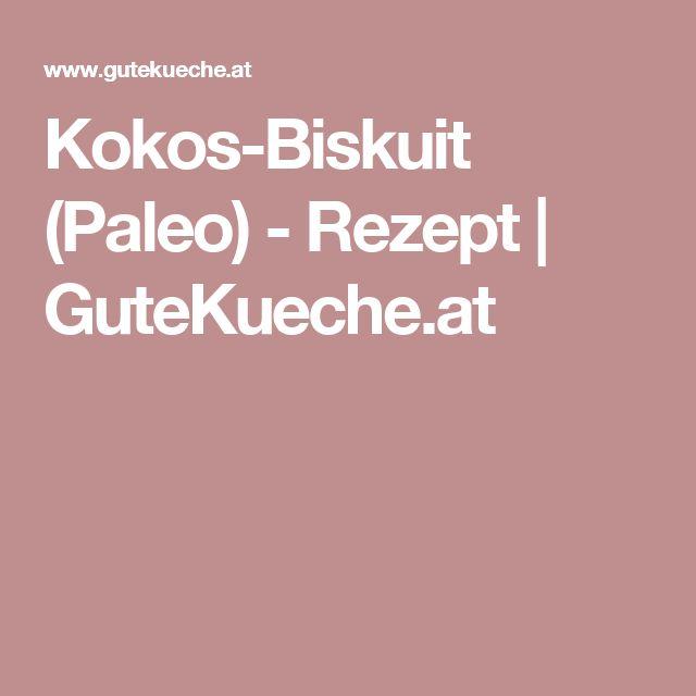 Kokos-Biskuit (Paleo) - Rezept | GuteKueche.at