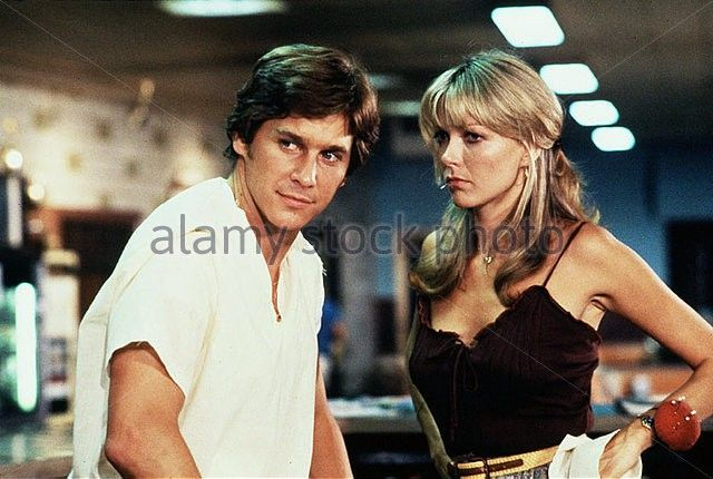 """Susan in a scene with actor Tim Matheson from the movie """"Dreamer,"""" 1979."""