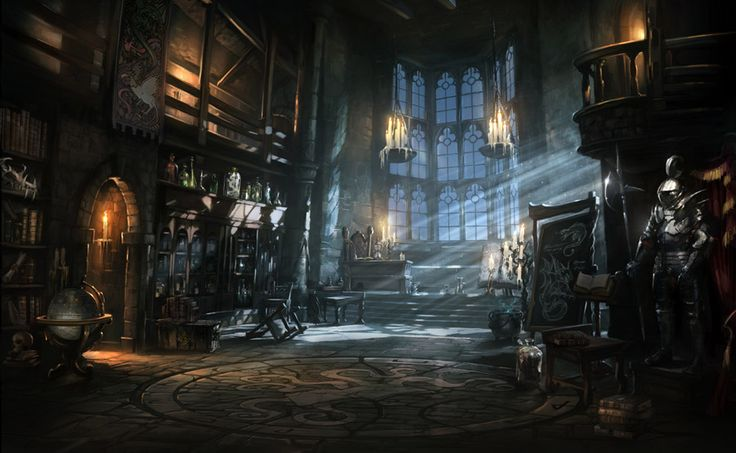 Wonderbook: Book of Spells - Environment Concept by atomhawk.deviantart.com on @DeviantArt
