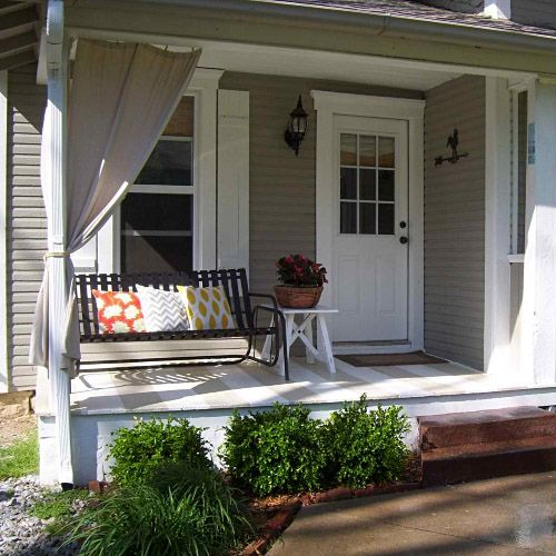 10 Awesome Music Inspired Home Decor Ideas: 1000+ Ideas About Small Porches On Pinterest