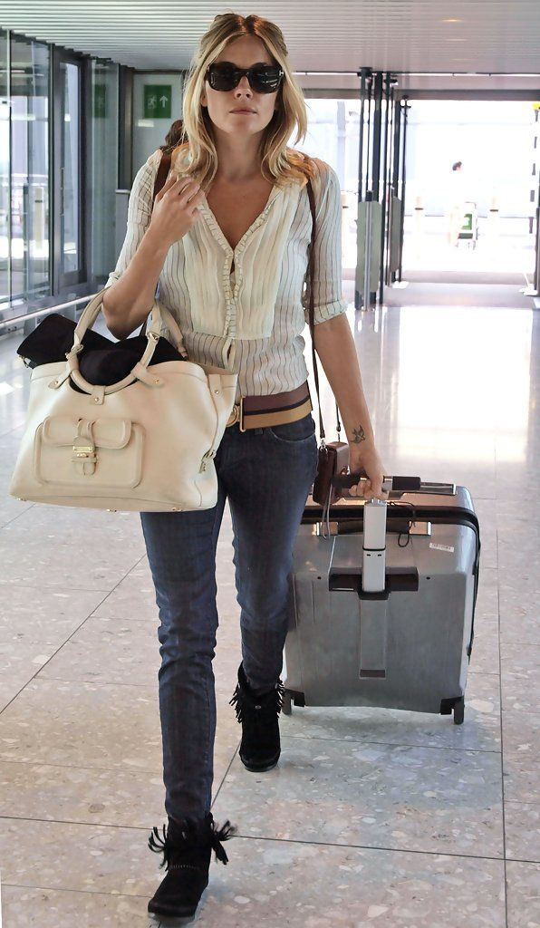 Sienna Miller - Sienna Miller at the Airport