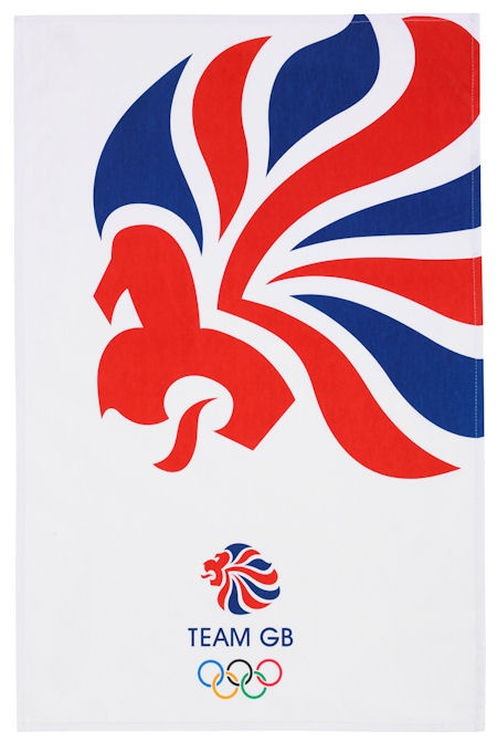 Team GB Lion's Head Logo London 2012 Olympics Tea