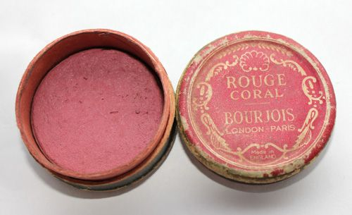 Original Bourjois rouge from the 1940s
