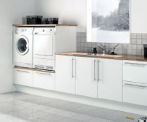 Vaskeroms innredning