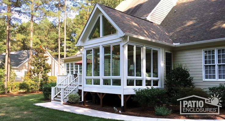 17 best images about sunroom exterior photos on pinterest for 3 season room additions