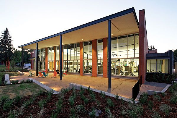 Carbondale Branch Library, CO, part of Garfield County Libraries | Humphries Poli Architects and Willis Pember Architects.