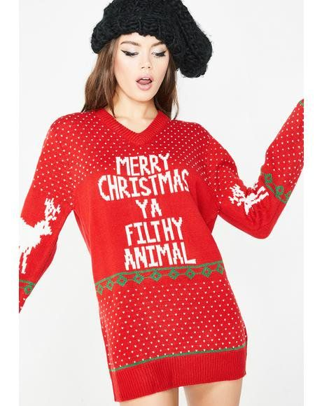 Filthy Souls Holiday Sweater #dollskill #christmas #holiday #ugly