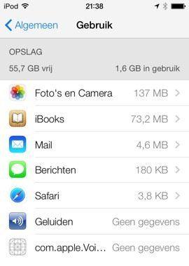 Is je iPhone bijna vol? Met deze tips verwijder je apps die veel opslagruimte vragen. Een must voor mensen met 8GB of 16GB iPhone opslag.