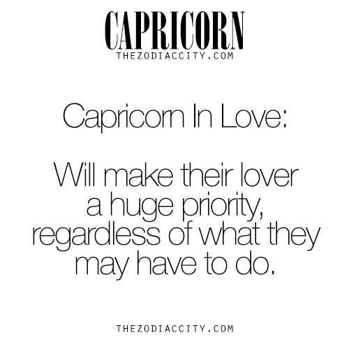 50 facts about capricorns and their relationship