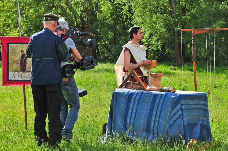 italian tv Rai 2 shooting Martius Atilius Alacer