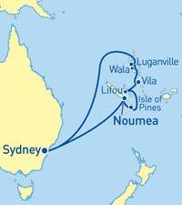 Pacific Pearl  Cruise - Ozcruising