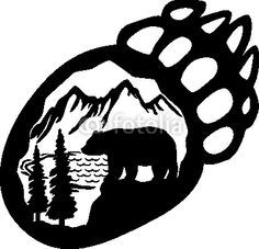 Bear Tracks Clip Art Google Images Search Engine