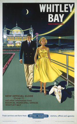 Whitley Bay - Northumberland - British Railways - 1958 - (Davies) -
