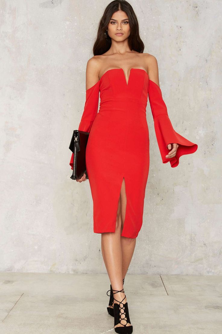 1000  ideas about Red Bardot Dress on Pinterest - Off shoulder ...