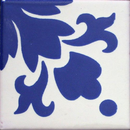 FLOR PUNTO - Patterned Tile - Mexican Tile Designs