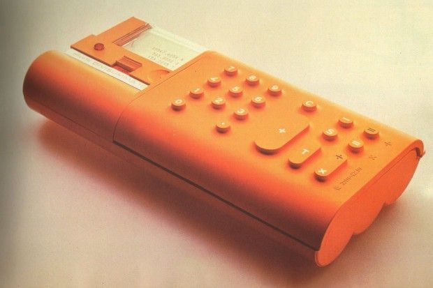 Mario Bellini - portable printing calculator, 1972