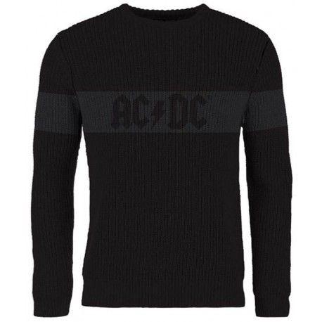 AC/DC: Logo (pulover tricotat)