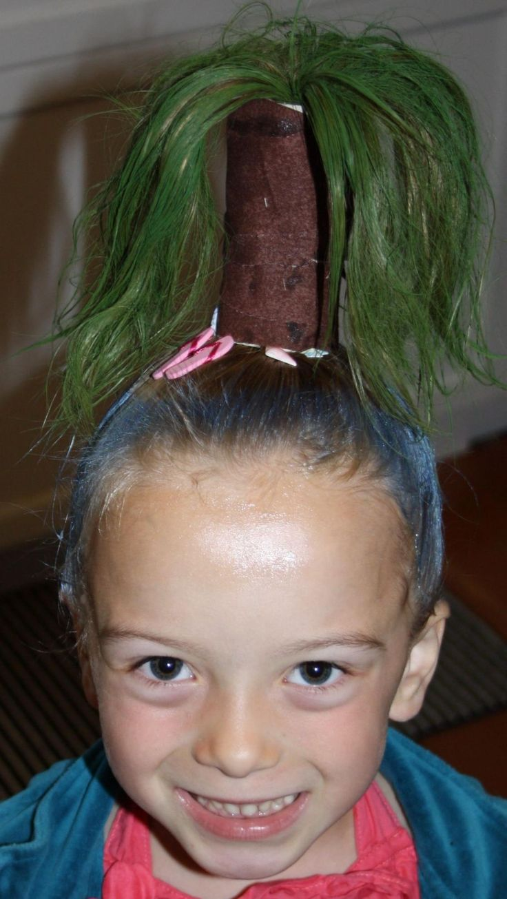 Next Previous Crazy hairstyle is just for the fun of celebrating that school who works with children love to throw them around their wild slide …