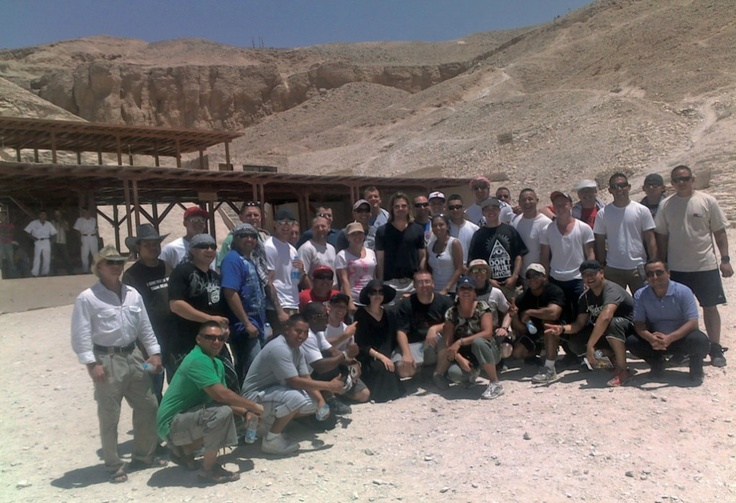 Angelina Jolie And Brad Pitt Visit Upper Egypt