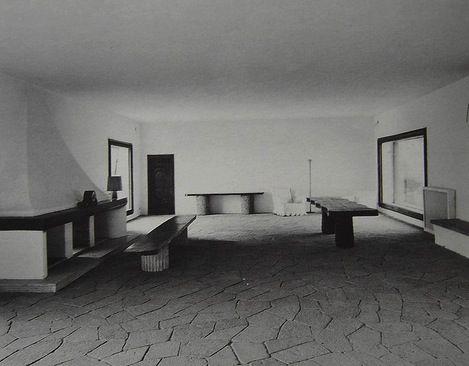 Interior Casa Malaparte - Italy - architect Adalberto Libera