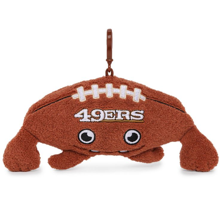 $2 NFL 49ers Plush Creature Clip