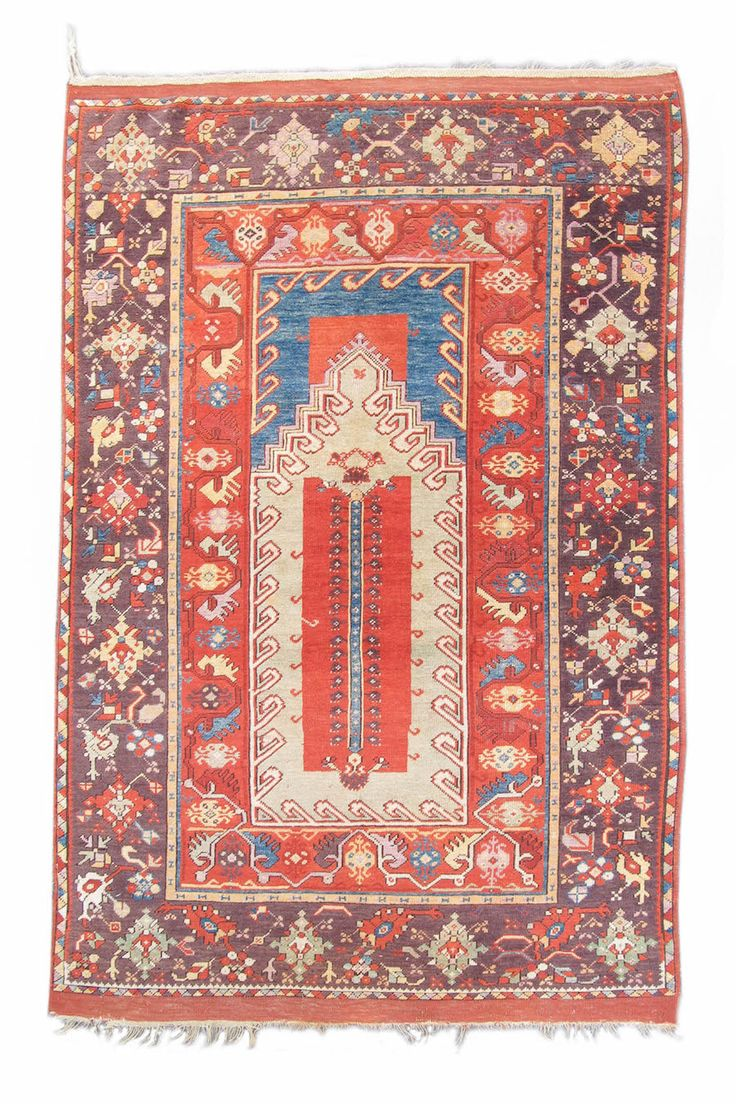 Melas Prayer Rug, Turkey, 19th C (3rd Q)