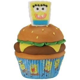 How to make Snackin' with SpongeBob Cupcakes.