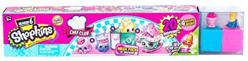 Cook up a Shopkins banquet in an instant with the Chef Club Mega Pack! This box is choc full of 20 Chef Club Shopkins and 4 recipe books. This season each Shopkin is an ingredient in a deliciously fun...